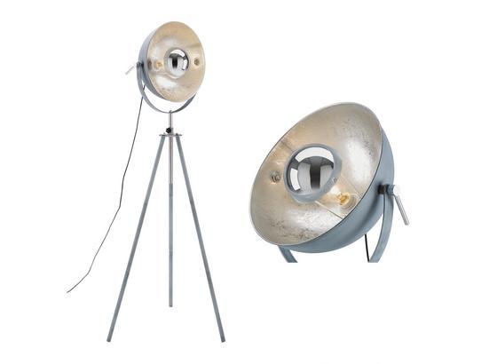 Stojacia Lampa Blanche -eö- - sivá, Štýlový, kov (69/179cm) - Mömax modern living