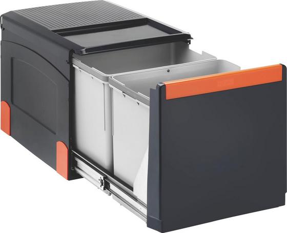Cube 41 Cube41 - Hellgrau/Schwarz, Kunststoff (34,1/33,5/47,5cm)