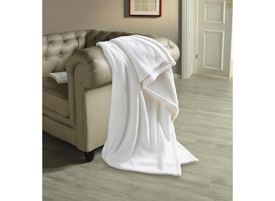 Felldecke Oliva - Weiß, ROMANTIK / LANDHAUS, Textil (140/190cm) - James Wood