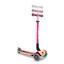 Scooter Globber B: 56 cm Pink - Pink/Birkefarben, Basics, Holz/Kunststoff (56/77,5cm)