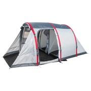 Tunnelzelt Sierra Ridge Air X4 für 4p 485x270x200cm 68077 - Dunkelgrau/Rot, MODERN, Kunststoff/Textil (485/270/200cm) - Bestway