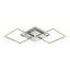 Led Stropní Svítidlo Jose - bílá/barvy stříbra, Konvenční, kov/umělá hmota (75/37/6cm) - Premium Living