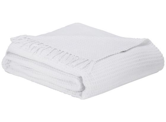 Deka Alice - bílá, Romantický / Rustikální, textil (150/180cm) - Zandiara