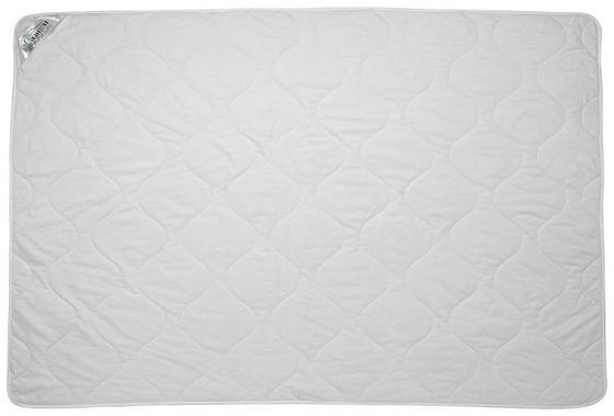 Steppdecke Bio Baumwolle - Weiß, KONVENTIONELL, Textil (140/200cm)