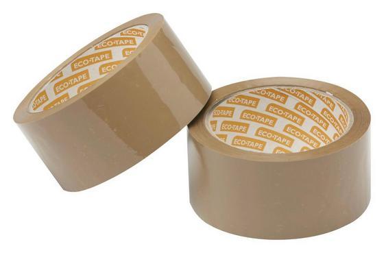 Verpackungsband Braun - Braun, KONVENTIONELL, Kunststoff (6600cm) - Gebol