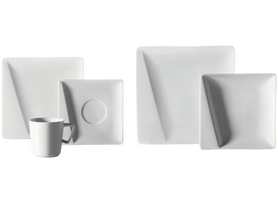 Kombiservice Quadro Pi - Weiß, MODERN, Keramik (33,5/33,5/30cm) - Mäser