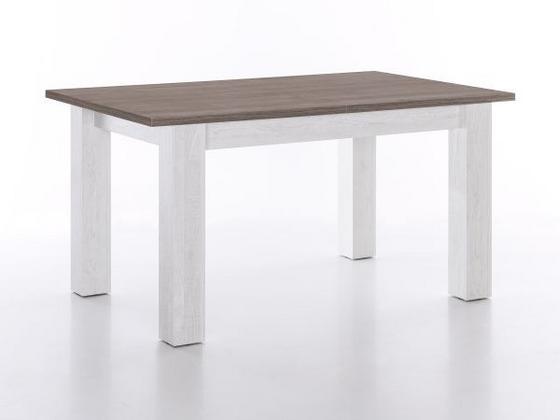 Konferenční Stolek Sultan - barvy pinie, Romantický / Rustikální, dřevěný materiál (110/45/60cm)
