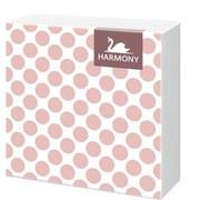 Serviette Vintage Collection - Pink/Weiß, KONVENTIONELL, Papier (33/33cm)