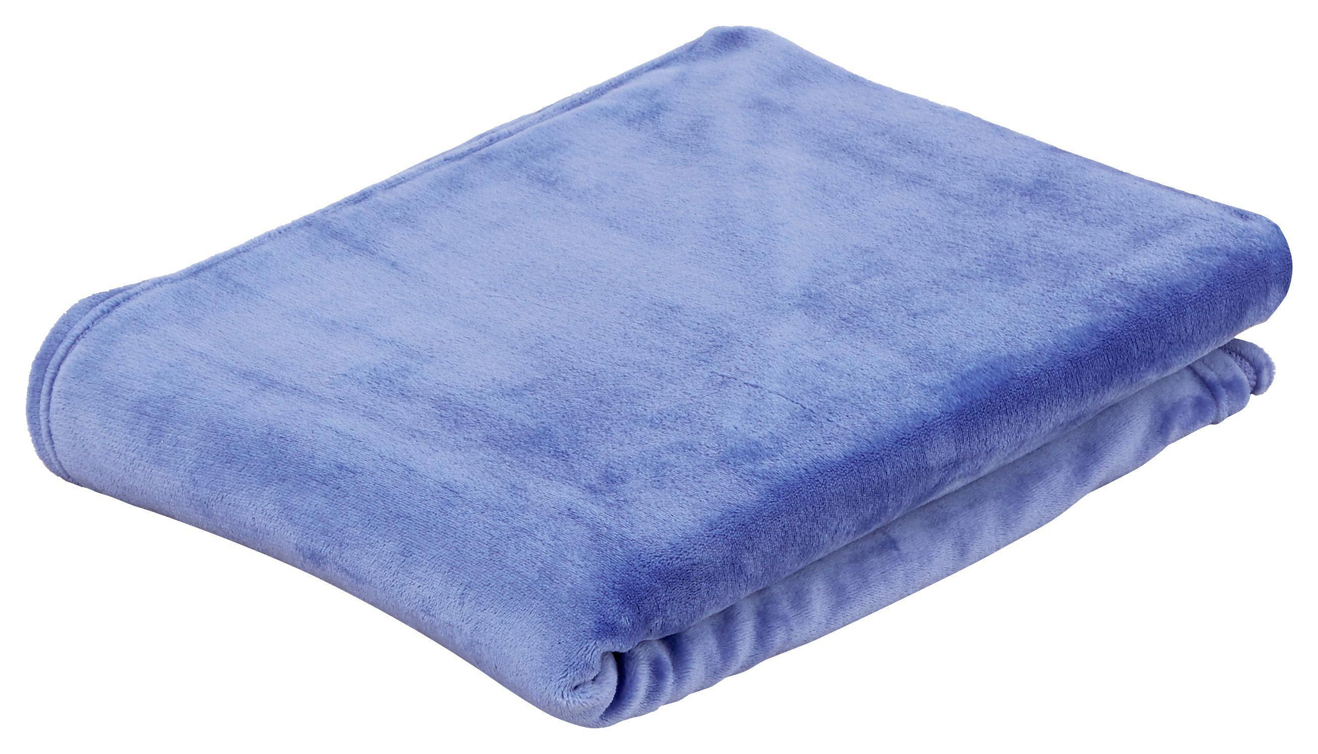 Puha Takaró Marlies - kék, konvencionális, textil (150/200cm) - LUCA BESSONI