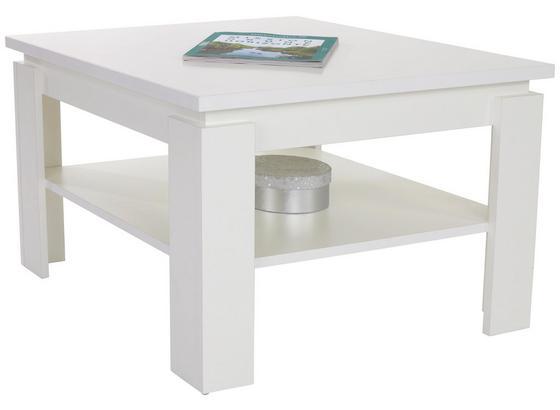 Konferenčný Stolík Nizza 1 - biela, Moderný, kompozitné drevo (70/45/70cm)