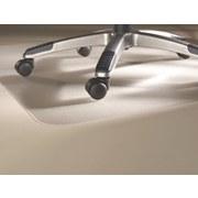 Bodenschutzmatte Erich 90x120 cm - Transparent, KONVENTIONELL, Kunststoff (90/120cm)