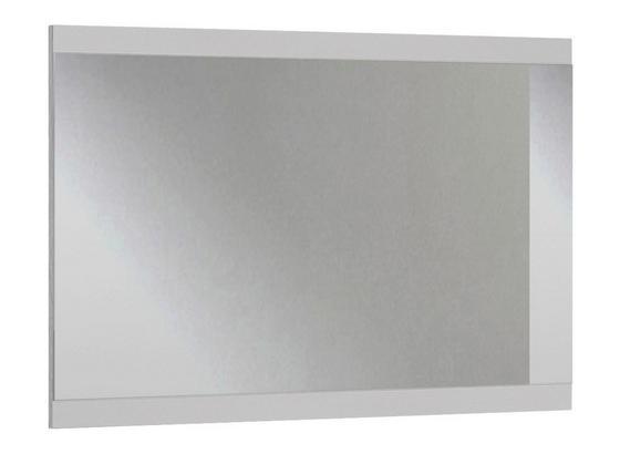 Wandspiegel Nadja B: ca. 47 cm - Weiß, KONVENTIONELL, Glas/Holzwerkstoff (47/115/4cm) - Cantus