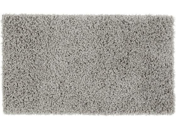 Koberec S Vysokým Vlasom Cenový Trhák - svetlosivá, Konvenčný, textil (60/100cm) - Based