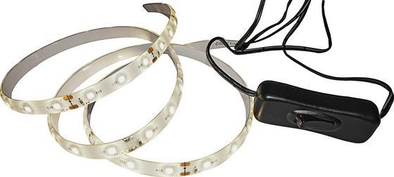 Led Dekoračná Lampa Kurt  -top- -eö- - biela, umelá hmota (100/1/0,3cm) - Mömax modern living