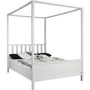 Himmelbett Marit 180x200 cm Weiß - Weiß, Basics, Holzwerkstoff (180/200cm) - Livetastic