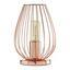 Stolová Lampa Dioder 12/23cm, 60 Watt - medená, Štýlový, kov (12/23cm) - Mömax modern living