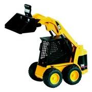 Bruder Cat Kompaktlader 02431 - Gelb/Schwarz, Kunststoff - Bruder