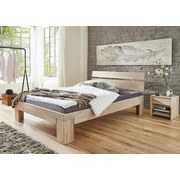 Futonová Postel Yves 140x200cm - bílá, Konvenční, dřevo (140/200cm)