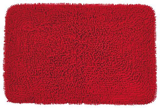 Fürdőszobai Szőnyeg Lilly - Piros, konvencionális, Textil (60/90cm) - Ombra