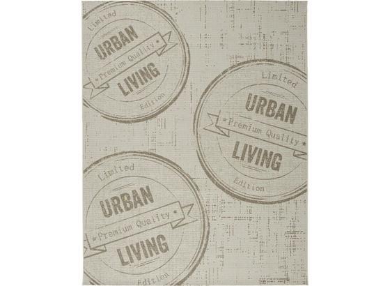 Hladko Tkaný Koberec Urban Living 1 - prírodné farby, Štýlový, textil (80/200cm) - Mömax modern living