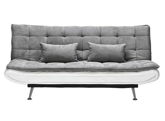 Pohovka S Rozkladom Cloud - sivá/biela, kov/drevo (196/92/98cm) - Mömax modern living