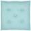 Sitzkissen Lore - Hellblau, MODERN, Textil (40/40cm) - Ombra