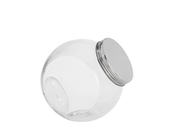 Dóza Na Korenie Antonius Top- - farby ušľachtilej ocele/číre, kov/sklo (16/11/16,5cm) - Based