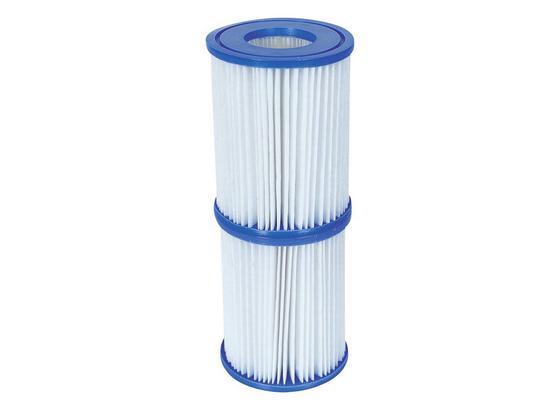 Filterkartusche für Pool Catridge Größe 2 58094 - Blau/Weiß, Kunststoff (10,6/13,6cm) - Bestway