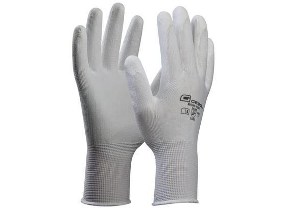 Microflexhandschuhe Gr. 8 - Weiß, KONVENTIONELL, Textil (8null) - Gebol