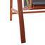 Hojdačka Acacia - farby akácie/tmavosivá, Moderný, drevo/textil (196/174/124cm) - Modern Living