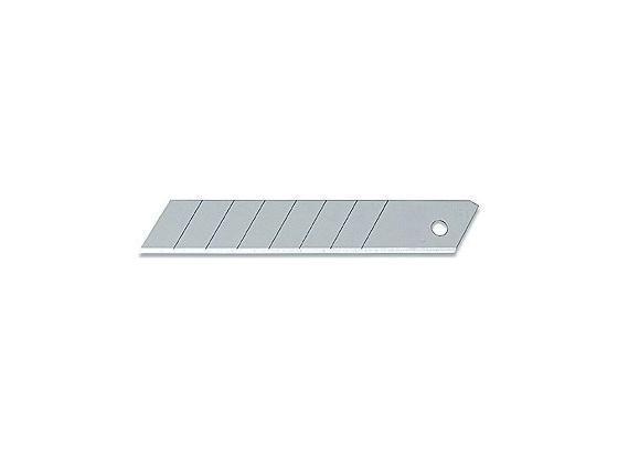 Cuttermesser Ersatzklingen 10 Stück, L: 18 mm - Silberfarben, KONVENTIONELL, Metall (1.8cm) - Gebol
