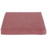 Handtuch Elena - Rosa, MODERN, Textil (50/100cm) - LUCA BESSONI