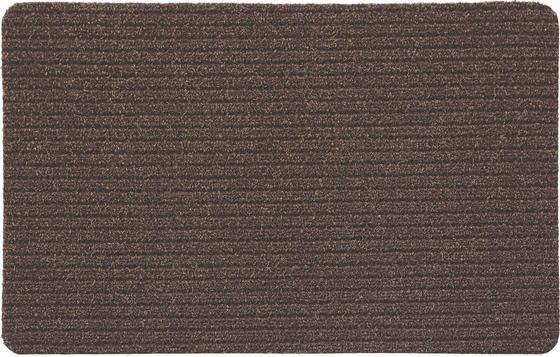 Lábtörlő Troika - barna, konvencionális, textil (40/60cm)