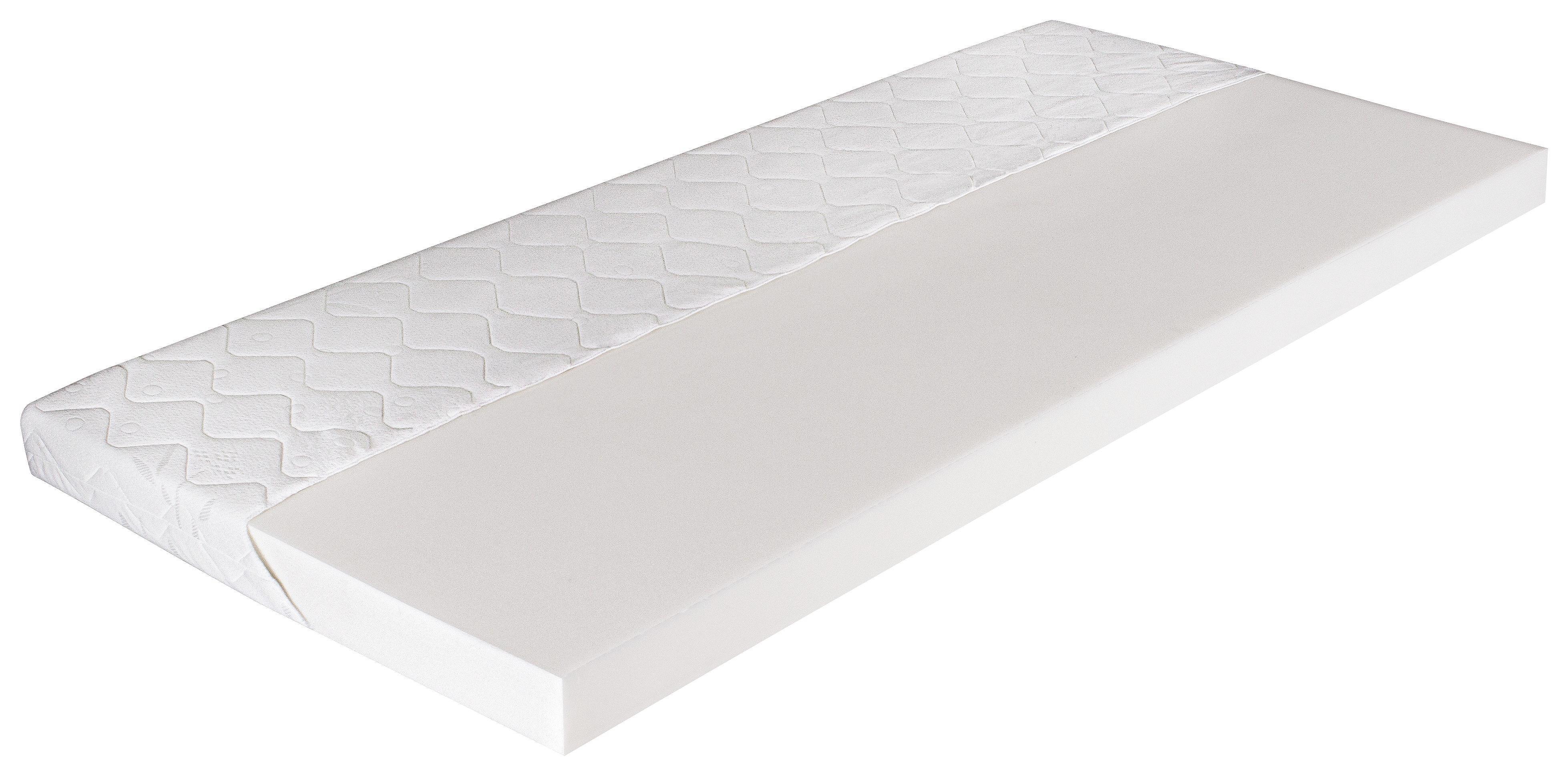 Matrace Viva Easy - bílá/šedá, textil (200/90/10cm)