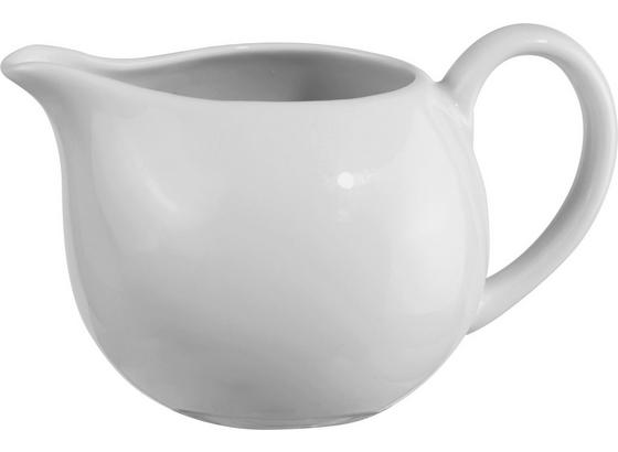 Milchkännchen Felicia - Weiß, KONVENTIONELL, Keramik (26cm) - Ombra