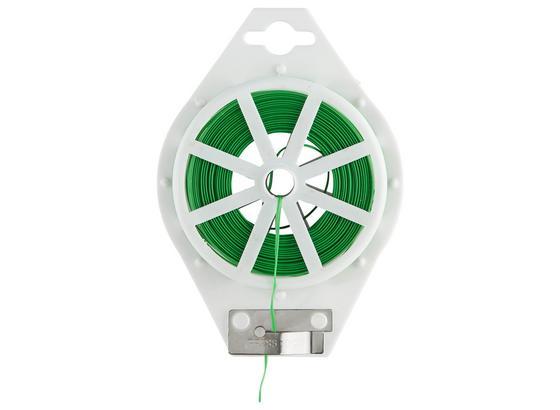 Vystužovací Drôt Trixi - zelená, kov/plast (10000cm)