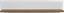 Falipolc Toronto - Tölgyfa/Fehér, modern, Faalapú anyag (125/25/21cm) - Ombra