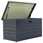 Aufbewahrungsbox Auflagenbox 350l - Anthrazit, Basics, Metall (120/61/62cm)