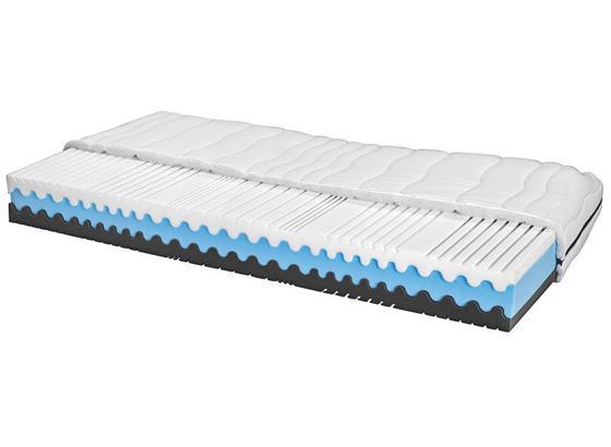 Komfortschaummatratze Silvy 80/200cm H2/H3 - Weiß, Textil (80/200cm) - Primatex