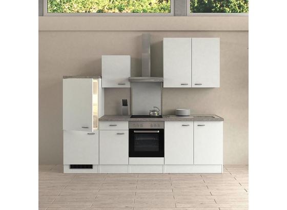 Küchenleerblock Wito 270cm Weiß - Weiß, KONVENTIONELL, Holzwerkstoff (270/60cm)