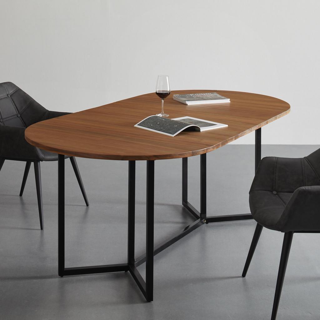 Rozkladací Stôl Samuel 160-200x100 Cm