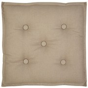 Sitzkissen Lore - Taupe, MODERN, Textil (40/40cm) - Ombra
