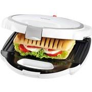 Sandwichtoaster Tasty Toast - Schwarz/Weiß, Design, Kunststoff (24/24/6cm)