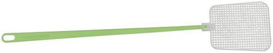 Fliegenklatsche Länge: 45 cm - Hellgelb/Schwarz, KONVENTIONELL, Kunststoff (45cm) - Homeware