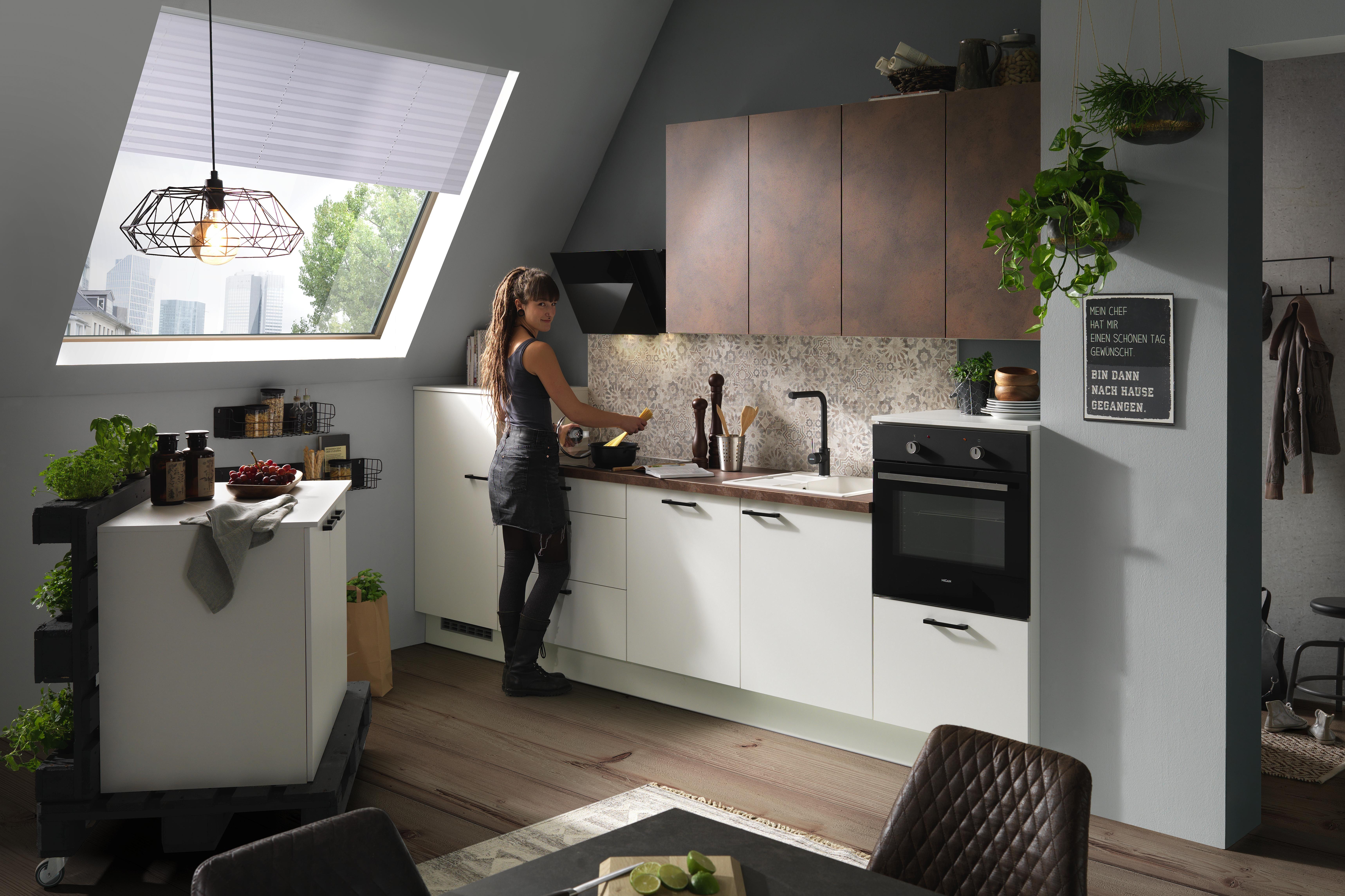 Vestavná Kuchyň Pn 80/310 - Basics (370cm)
