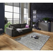 Bigsofa Garcia B: 248cm - Chromfarben/Braun, MODERN, Holz/Textil (248/90/103cm) - Luca Bessoni