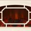 Elektrokamin inkl. LED-Beleuchtung - Weiß, MODERN, Metall (36/41/24,2cm)