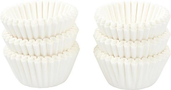 Praliné Forma Fehér, Papír - fehér, konvencionális, papír (3,5cm)