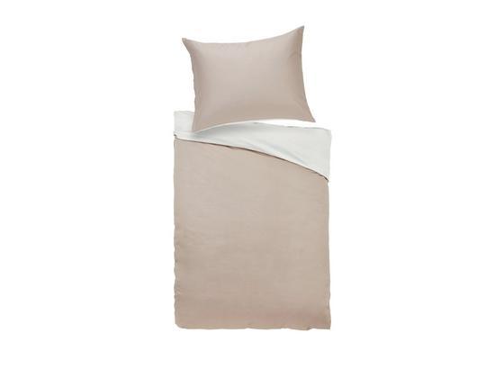 Povlečení Belinda Xl - krémová/pískové barvy, textil (140/220cm) - Premium Living