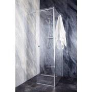 Glas Flügeltür mit Seitenwand Sanoflex Grande 51,4cm/ 147cm - MODERN, Glas (147-147/195cm)